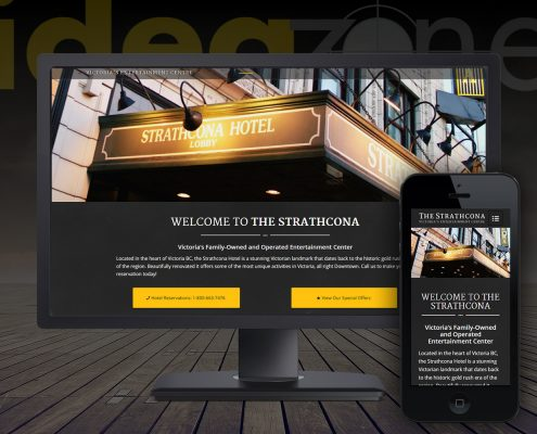 Professional WordPress websites for the tourism industry in Victoria BC